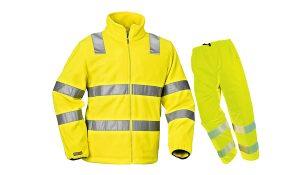 Tenue de protection de couleur jaune